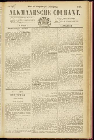 Alkmaarsche Courant 1896-11-06
