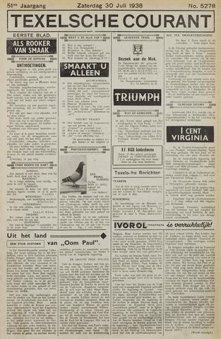 Texelsche Courant 1938-07-30