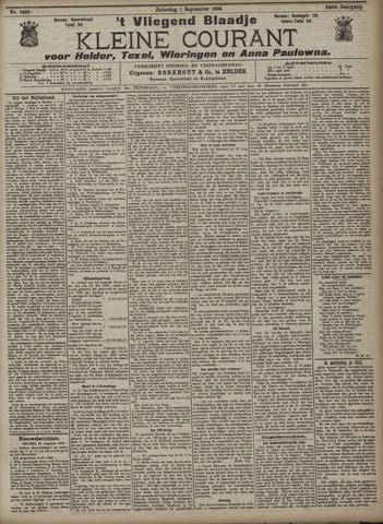 Vliegend blaadje : nieuws- en advertentiebode voor Den Helder 1906-09-01