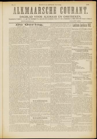 Alkmaarsche Courant 1916-01-06