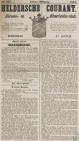 Heldersche Courant 1868-06-17