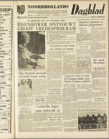 Noordhollands Dagblad : dagblad voor Alkmaar en omgeving 1960-09-23