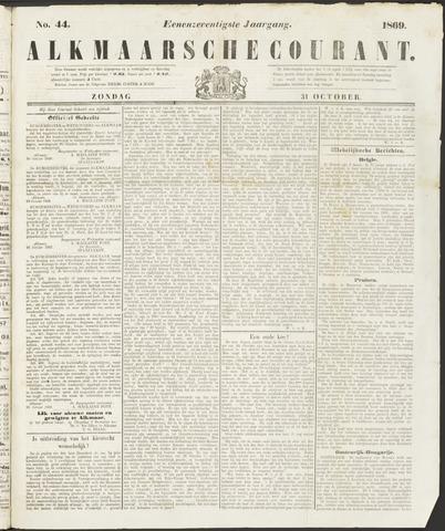 Alkmaarsche Courant 1869-10-31