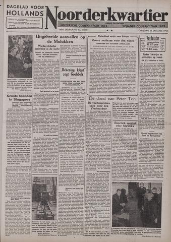 Dagblad voor Hollands Noorderkwartier 1942-01-16