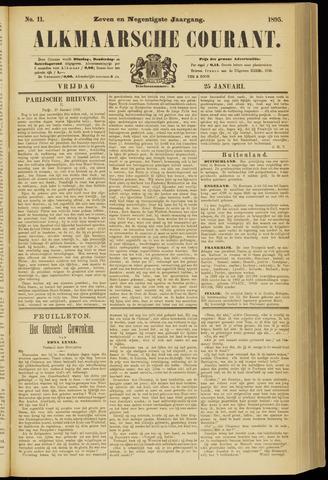 Alkmaarsche Courant 1895-01-25