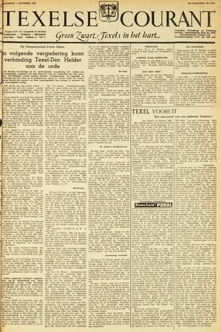 Texelsche Courant 1950-11-01