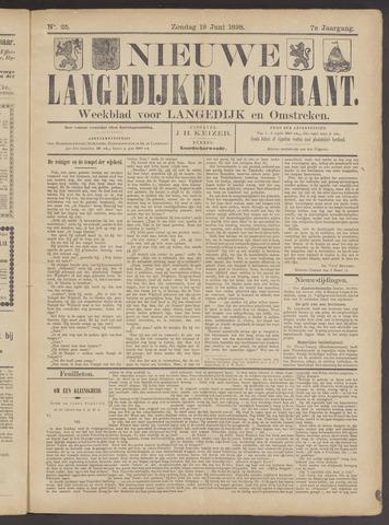 Nieuwe Langedijker Courant 1898-06-19