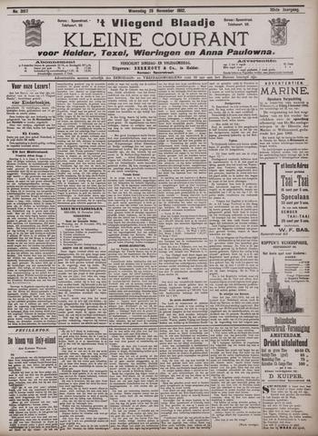 Vliegend blaadje : nieuws- en advertentiebode voor Den Helder 1902-11-26