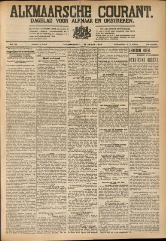 Alkmaarsche Courant 1930-04-17