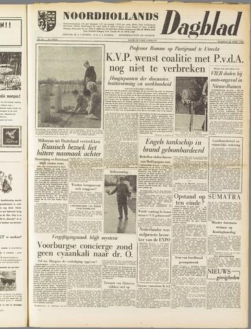 Noordhollands Dagblad : dagblad voor Alkmaar en omgeving 1958-04-28