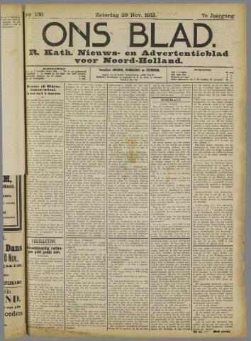 Ons Blad : katholiek nieuwsblad voor N-H 1913-11-29