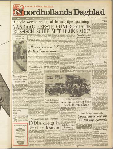 Noordhollands Dagblad : dagblad voor Alkmaar en omgeving 1962-10-24
