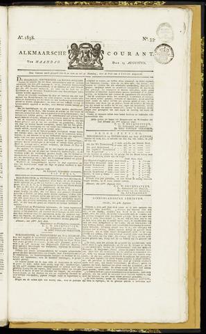 Alkmaarsche Courant 1838-08-13
