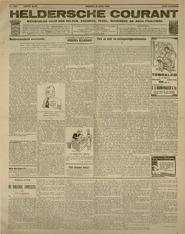 Heldersche Courant 1932-04-19