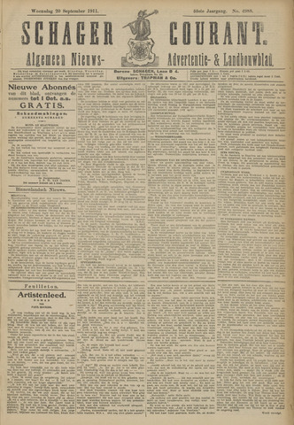 Schager Courant 1911-09-20