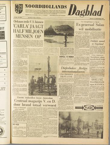 Noordhollands Dagblad : dagblad voor Alkmaar en omgeving 1961-09-12