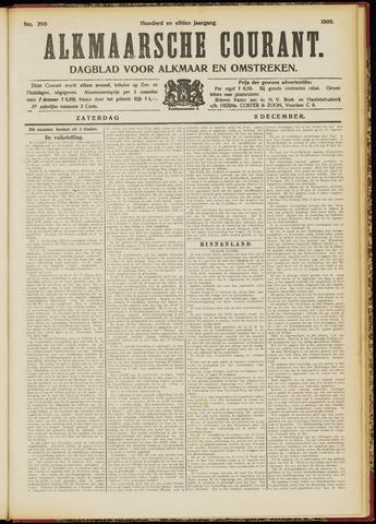 Alkmaarsche Courant 1909-12-11