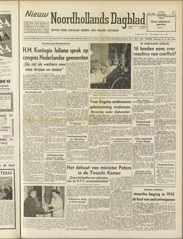 Nieuw Noordhollandsch Dagblad : voor Alkmaar en omgeving 1951-06-08