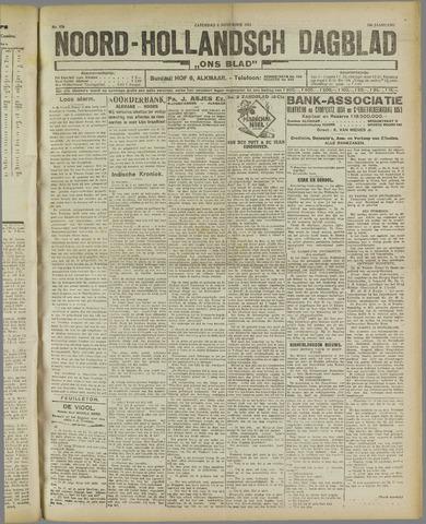 Ons Blad : katholiek nieuwsblad voor N-H 1921-11-05