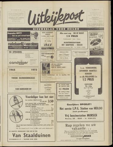 Uitkijkpost : nieuwsblad voor Heiloo e.o. 1973-01-31