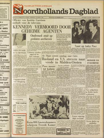 Noordhollands Dagblad : dagblad voor Alkmaar en omgeving 1967-05-22