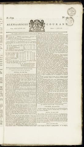 Alkmaarsche Courant 1839-07-01