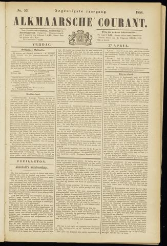 Alkmaarsche Courant 1888-04-27