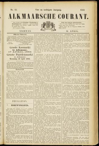Alkmaarsche Courant 1882-04-14