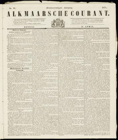 Alkmaarsche Courant 1871-04-16