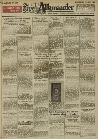 De Vrije Alkmaarder 1948-06-24