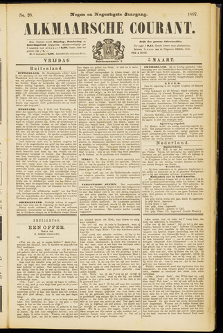 Alkmaarsche Courant 1897-03-05