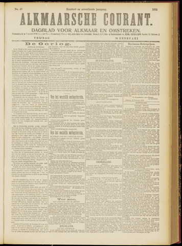Alkmaarsche Courant 1915-02-26