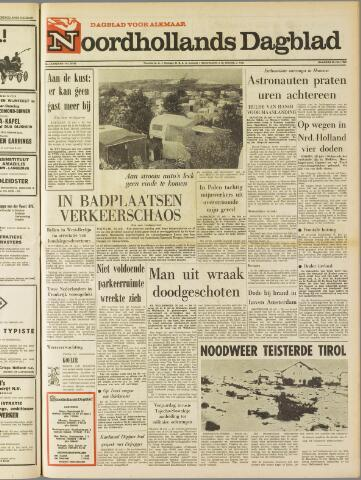 Noordhollands Dagblad : dagblad voor Alkmaar en omgeving 1969-07-28