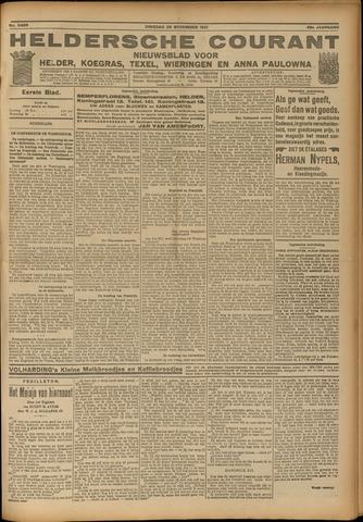 Heldersche Courant 1921-11-29