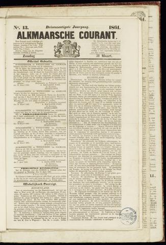 Alkmaarsche Courant 1861-03-31
