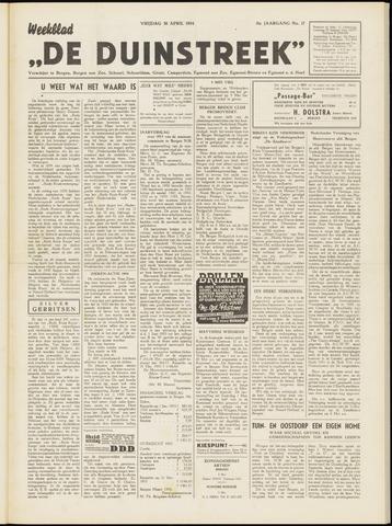 De Duinstreek 1954-04-30