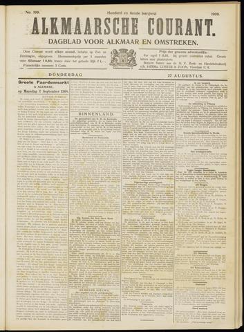 Alkmaarsche Courant 1908-08-27