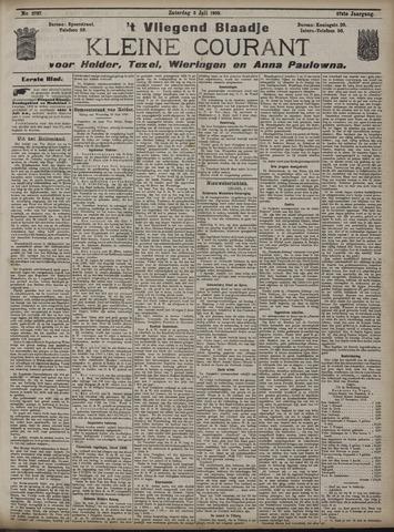 Vliegend blaadje : nieuws- en advertentiebode voor Den Helder 1909-07-03