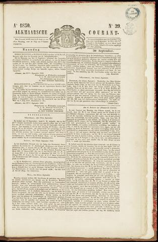 Alkmaarsche Courant 1850-09-30