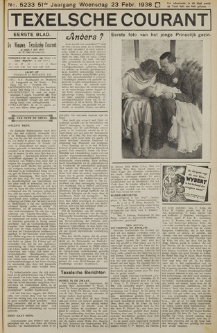 Texelsche Courant 1938-02-23
