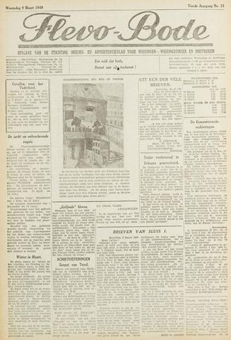Flevo-bode: nieuwsblad voor Wieringen-Wieringermeer 1949-03-09