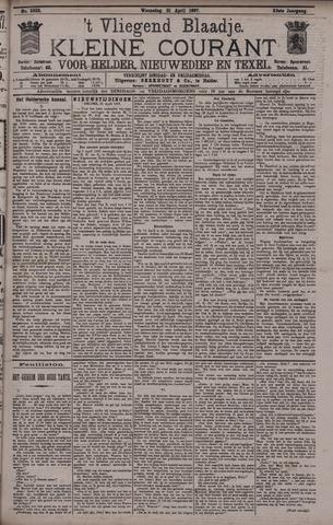 Vliegend blaadje : nieuws- en advertentiebode voor Den Helder 1897-04-21