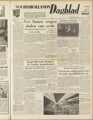 Noordhollands Dagblad : dagblad voor Alkmaar en omgeving 1953-03-17