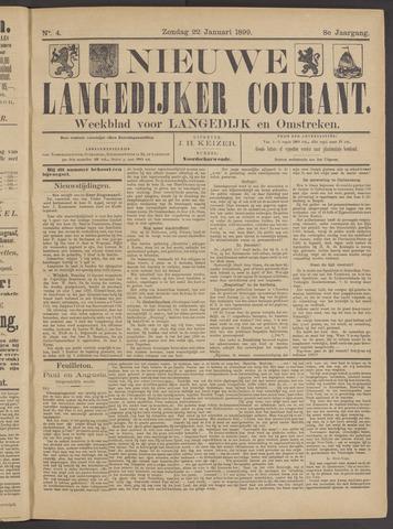 Nieuwe Langedijker Courant 1899-01-22