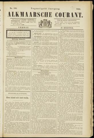 Alkmaarsche Courant 1888-08-31