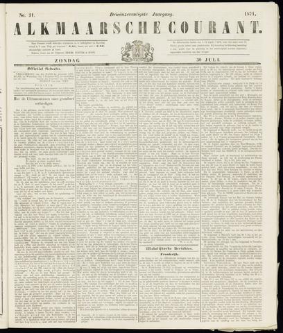 Alkmaarsche Courant 1871-07-30