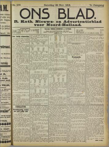 Ons Blad : katholiek nieuwsblad voor N-H 1913-11-22