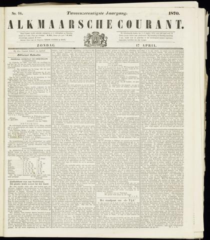 Alkmaarsche Courant 1870-04-17