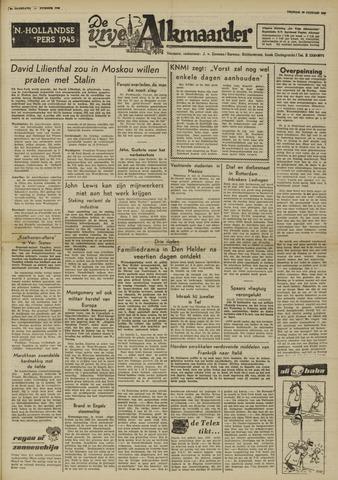 De Vrije Alkmaarder 1950-01-20