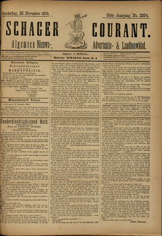Schager Courant 1889-11-28